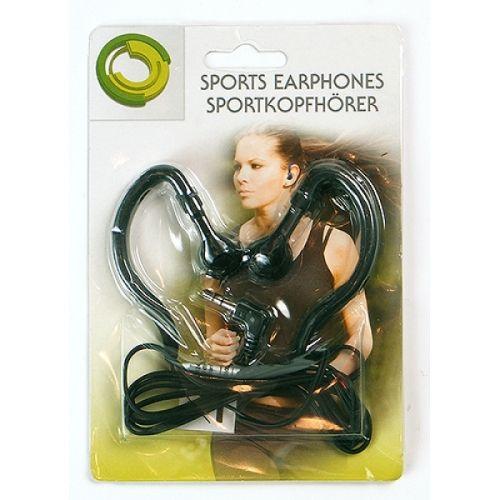 Stereo-Kopfhörer, Sport-Edition, schwarz