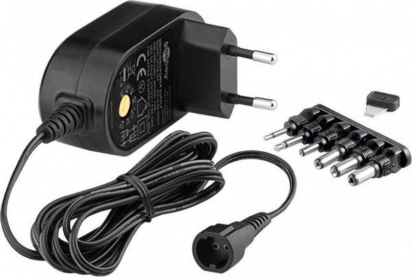 Universal-Netzteil 3-12V / 1A / 6 Adapter