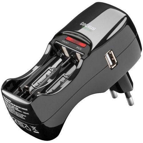 Steckerladegerät TC200USB für NiMH / NiCD & USB