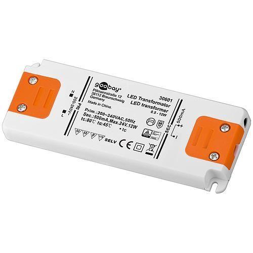 LED-Transformator 12 W CC 500 mA