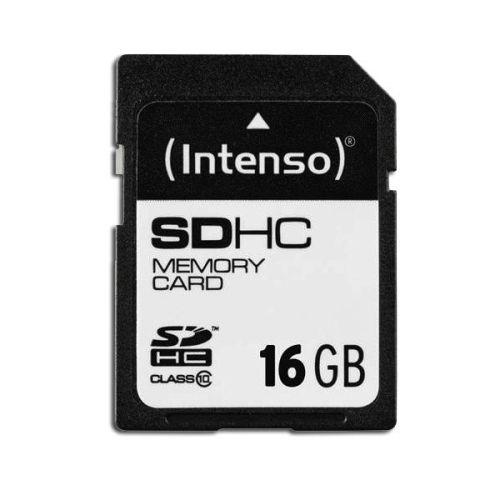 SDHC Card, Class 10, 16.0 GByte Intenso
