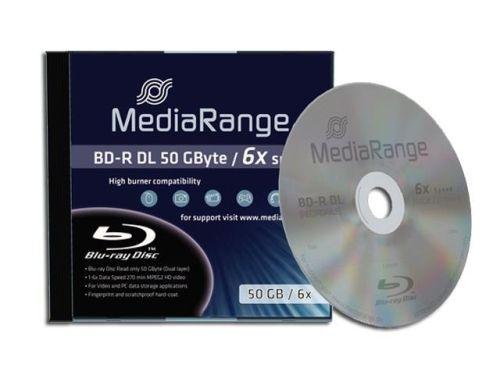 1 St. Blu-ray Rohling, Original MediaRange, 50GB