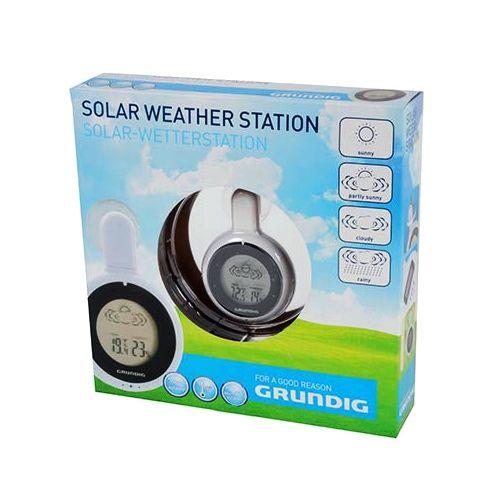 Solar Wetterstation mit Saugnapf, Grundig
