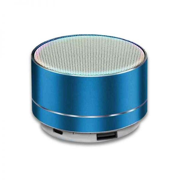 Bluetooth Lautsprecher, mobil mit MP3 Wiedergabe, blau