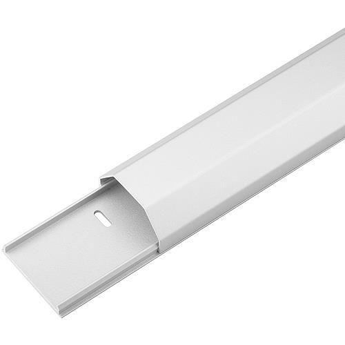 Zubehör Kabelkanal Aluminium weiß