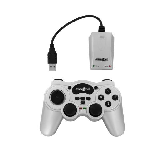 USB Wireless Powershock Joypad für PC, Motion Control