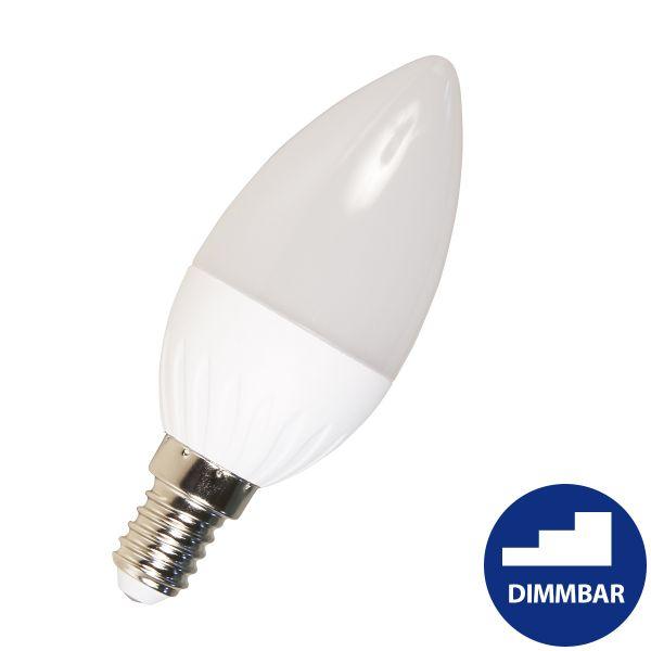 LED Kerze E14, 5W, 400lm, warmweiß step-dimmbar