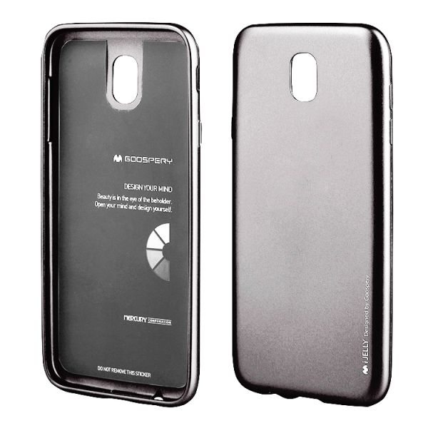 Schutzhülle i-JELLY für Samsung Galaxy J3, grau