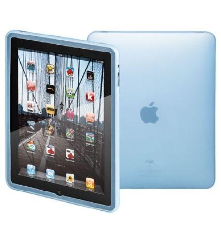 Silikon Tasche für iPad \ blau