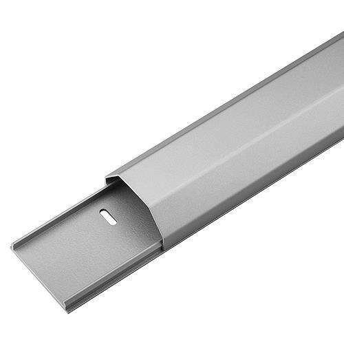 Zubehör Kabelkanal Aluminium silber
