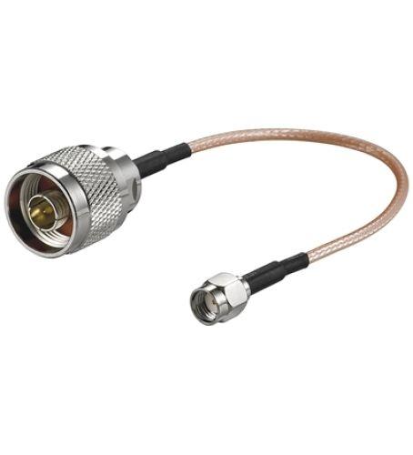 Antennenadapterkabel für WLAN-Router SMA > N