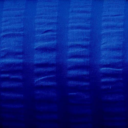 Bettwäsche Seersucker 140x200, 70x90 cm, royalblau, Zipper
