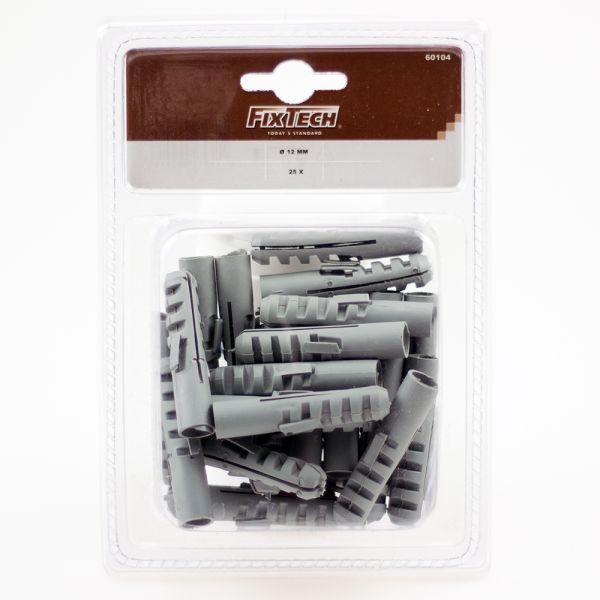 Kunststoff Dübel 12 mm Allzweckdübel 25 Stück