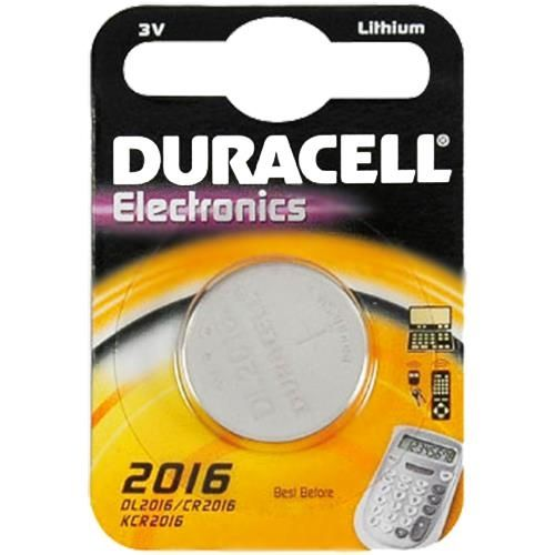 Duracell Knopfzelle Lithium, CR-2016