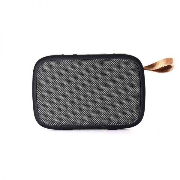 Bluetooth Lautsprecher Bighead, mobil, USB, FM, grau