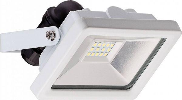 LED-Flutlichtstrahler, 10W / 830 Lumen, kaltweiß, 6500K, weiß