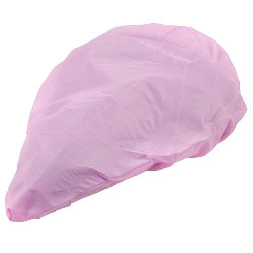 Abdeckhaube für Fahrradsattel, pink