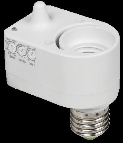 Mikrowellen-Bewegungsmelder mit E27 Fassung LX751, 60W