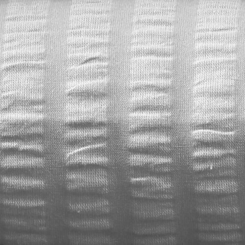 Kissenbezug Seersucker 40x40 cm, grau, Verschluss