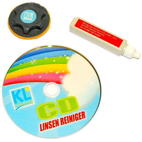 CD/DVD Reinigungsset
