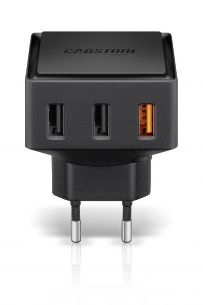 Quick Charge™ 3-Port USB Schnellladegerät für Steckdosen v1