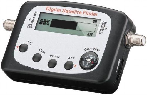 "SAT Finder, ""SF-Digi Pro"", LCD-Anzeige, Kompass, Ton"