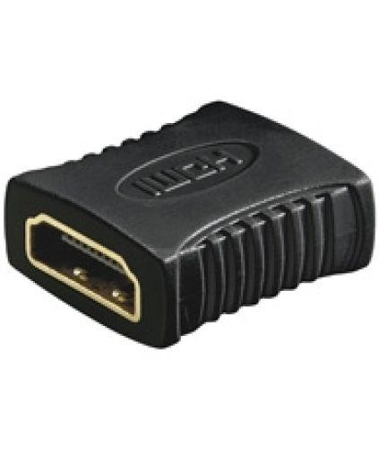 HDMI-Adapter, Buchse-Buchse, Goldkontakte