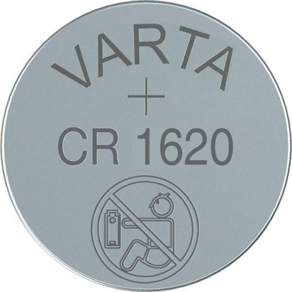 CR1620 (6620) - Lithium-Knopfzelle, 3V Varta