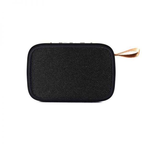 Bluetooth Lautsprecher Bighead, mobil, USB, FM, schwarz