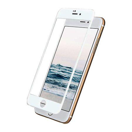 TEMPERED GLASS 5D für iPhone 6/6s weiß