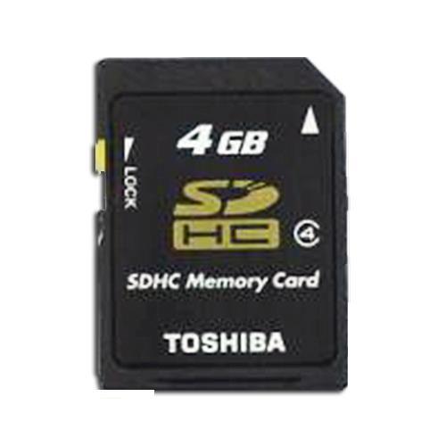 SDHC Card, High Speed Class 4, 4.0 GByte