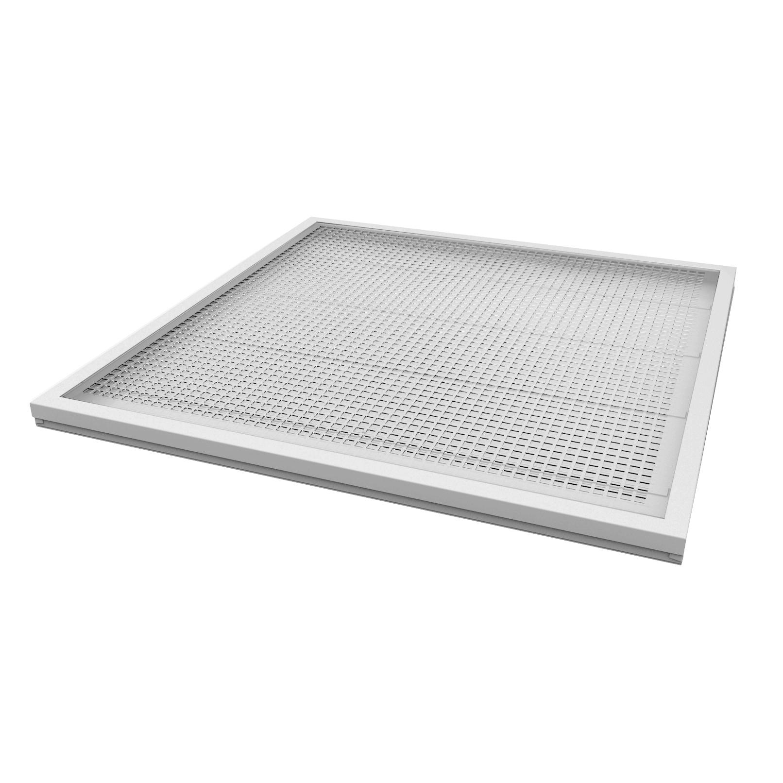 led panel leuchte 60 60cm neutralwei 36watt 2880lumen. Black Bedroom Furniture Sets. Home Design Ideas