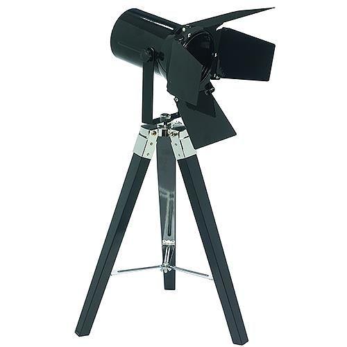 Grundig LED Retro-Kino-Tischlampe, schwarz, 2 W / 210 Lumen