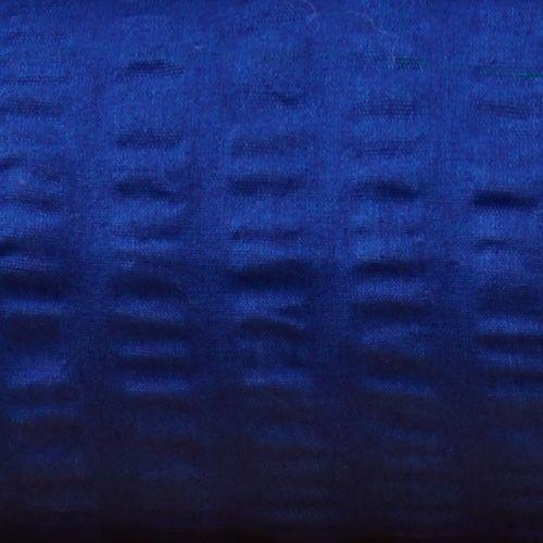 Kissenbezug Seersucker 40x40 cm, royalblau, Zipper