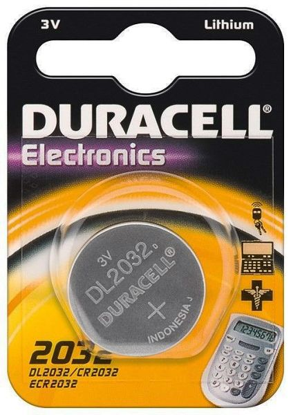 Duracell Knopfzelle Lithium, CR-2032