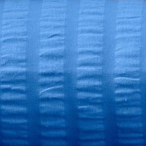 Kissenbezug Seersucker 80x80 cm, hellblau, Verschluss