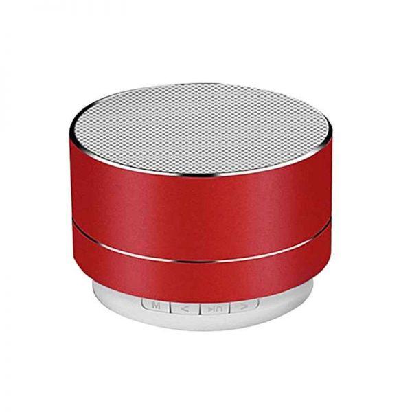 Bluetooth Lautsprecher, mobil mit MP3 Wiedergabe, rot