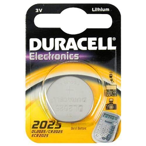 Duracell Knopfzelle Lithium, CR-2025