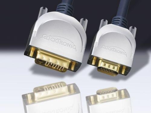 DVI-Kabel VGA 20m, Clicktronic
