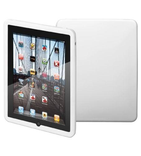 Robuste Silikon Tasche (weiss) für iPad