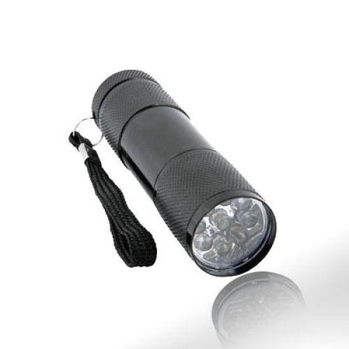 LED-Taschenlampe, Alu-Gehäuse