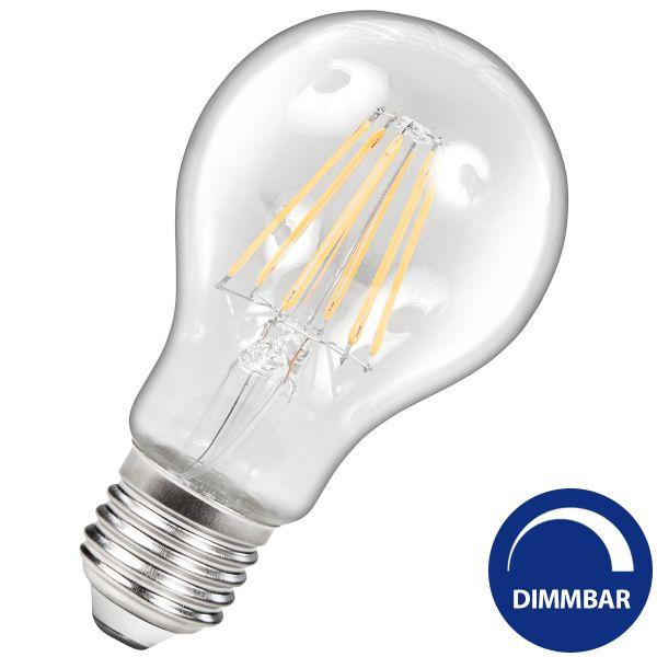 Dimmbare Led Lampe E27 7 5 W 800 Lumen Warmweiss Filament Led