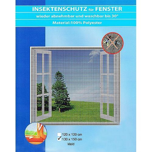 Insektenschutz für Fenster 130x150 cm