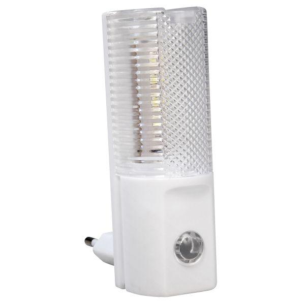LED Nachtlicht mit Tag/Nacht-Sensor 1,2W, 5 tageslichtweiße LED´s