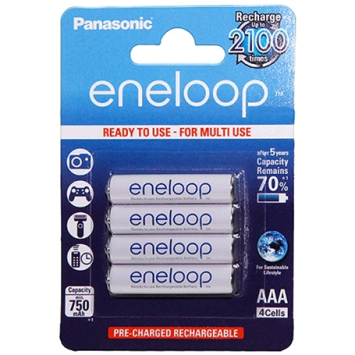 4 st ck aaa akkus 750mah panasonic eneloop. Black Bedroom Furniture Sets. Home Design Ideas