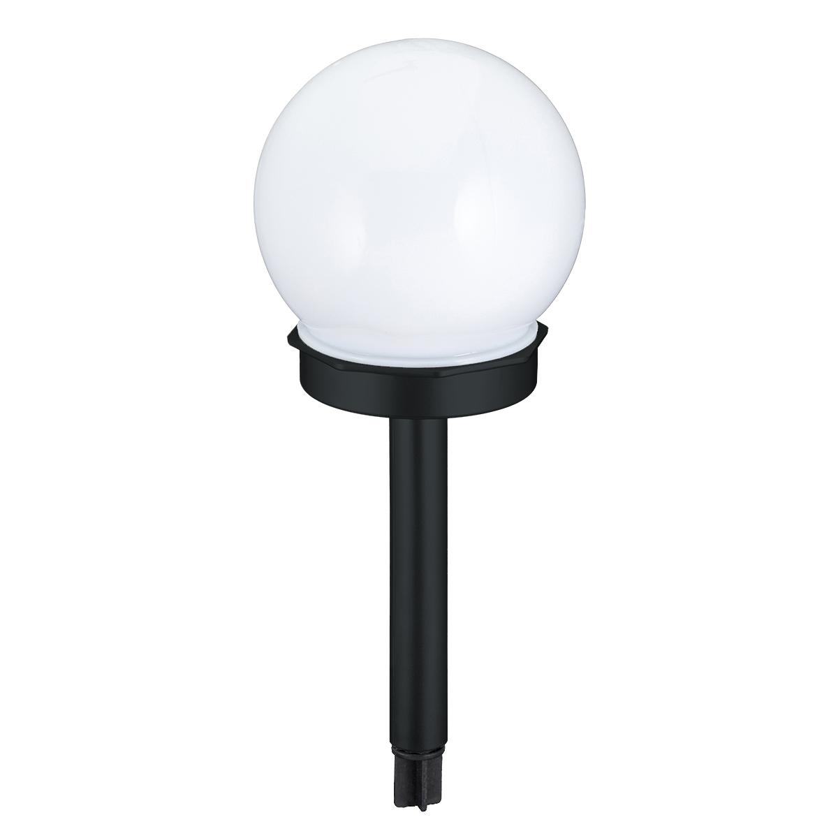 3er set solarlampen kugel ip44 10 cm. Black Bedroom Furniture Sets. Home Design Ideas