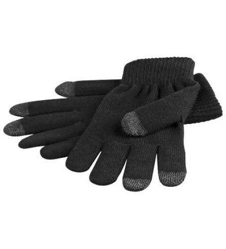 Handschuh für Smartphone, Tablet-PC (schwarz) L-Size