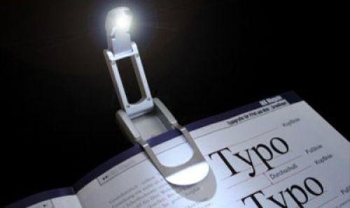 Design-Leselampe mit weisser LED