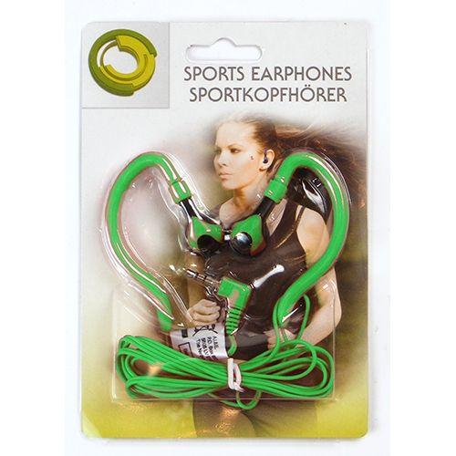 Stereo-Kopfhörer, Sport-Edition, grün