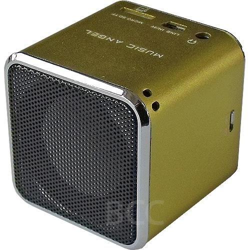 Tragbarer Mini-Lautsprecher/ Mini-MP3-Player, green